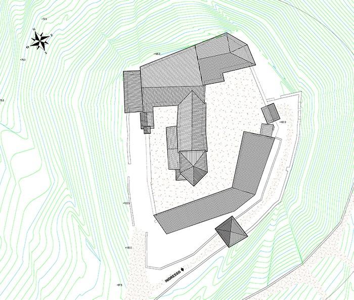 Campodenno trento castel belasi ice italian trade for Planimetrie 1 livello