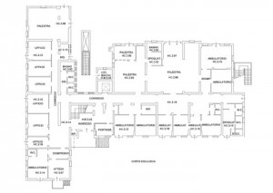 BOLOGNA – CARPACCIO CLINIC Floorplan