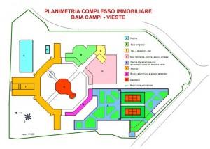 """VIESTE (FG) – VILLAGGIO """"BAIA DI CAMPI"""" Pianta principale"""