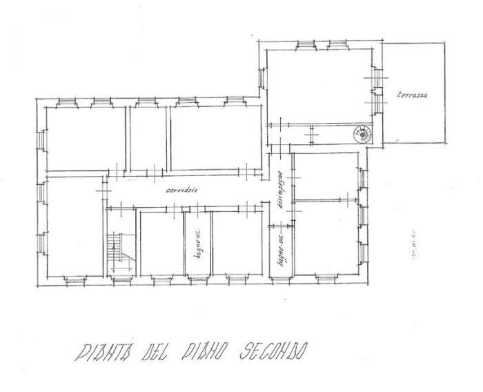 Bagni di Lucca (LU) – Fiori Villa floorplan