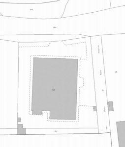 Bari – Ostello della Gioventù Pianta principale