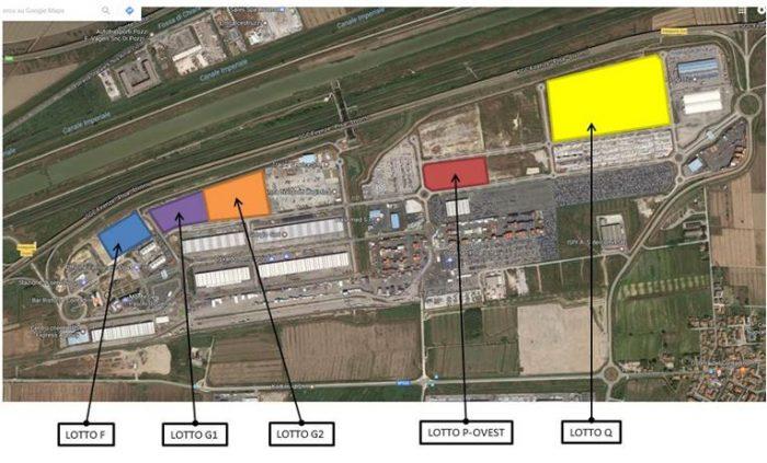 Livorno (LI) – Interporto Toscano Pianta principale