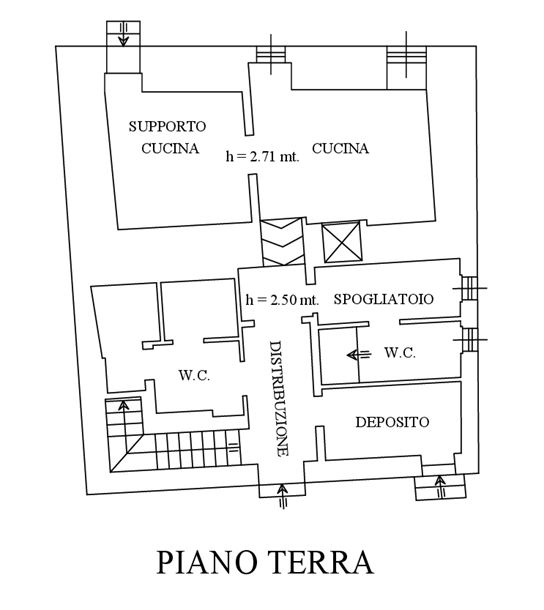 Sovicille (SI) – Montarrenti Castle floorplan