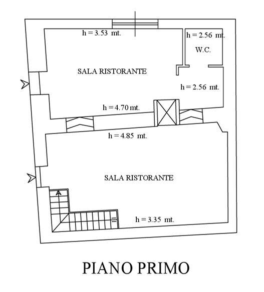 Sovicille (SI) – Castello di Montarrenti Pianta principale