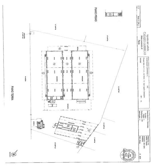 Sant'Angelo di Lomellina (PV) – ex magazzino Pianta principale