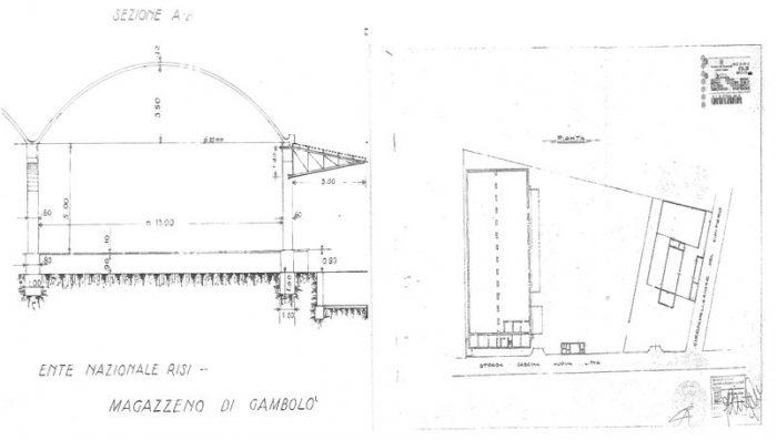 Gambolò (PV) – edificio ex Magazzino Pianta principale