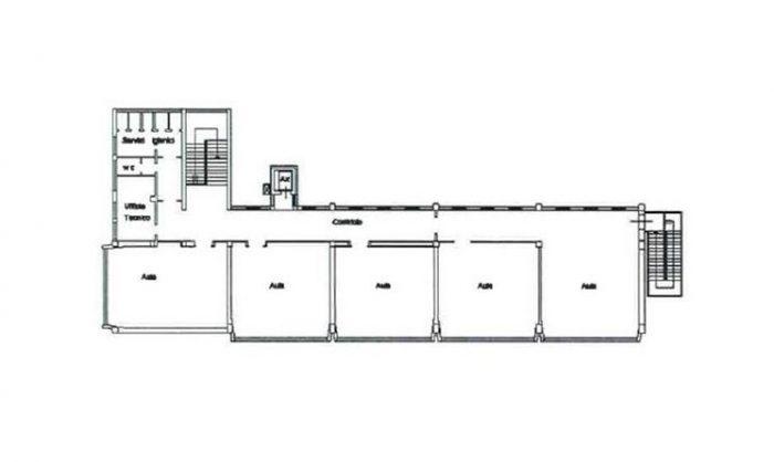 Bassano del Grappa (VI) – former CFP (adult training centre) floorplan