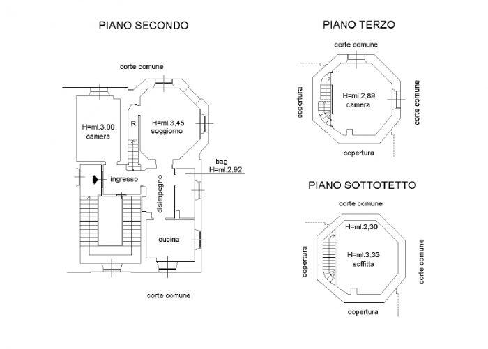 Savona (SV) – VILLA FERA floorplan