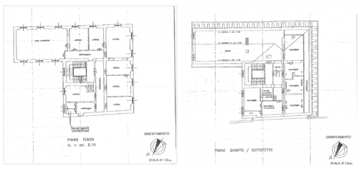 COMO –EX PORRO BUILDING (HEADQUARTERS OF THE EDUCATION DEPARTMENT OF COMO) floorplan