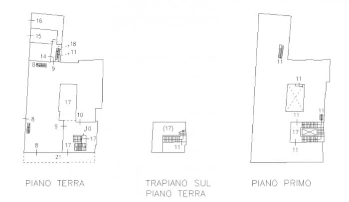 BOLOGNA –FELICINI GIOVANNINI HOUSE floorplan