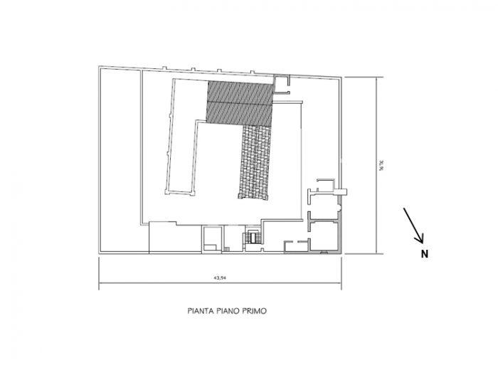 BACOLI (NA) – FORMER armOUry complex floorplan