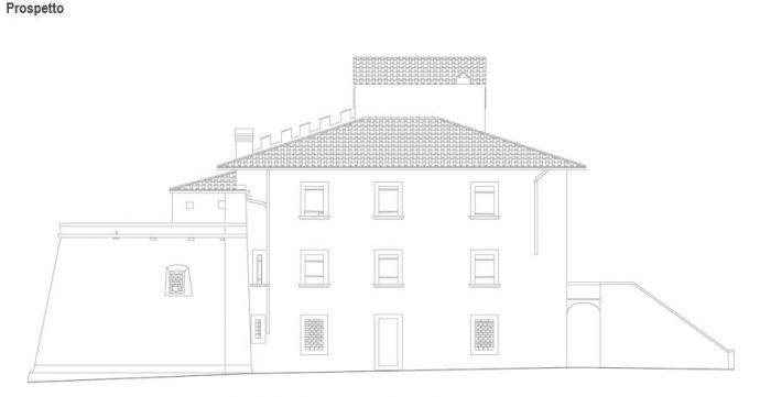 CASTAGNETO CARDUCCI (LI) – FORTRESS  OF CASTAGNETO CARDUCCI floorplan