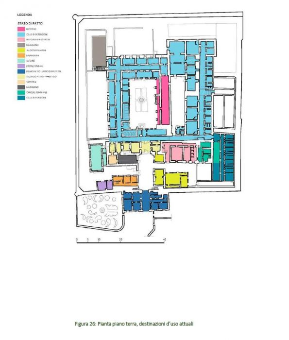 AGRIGENTO – FORMER CONVENT AND PRISON OF SAN VITO floorplan