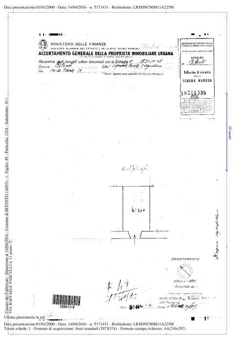 BITONTO (BA) – FORMER CONVENT OF S. AGOSTINO floorplan