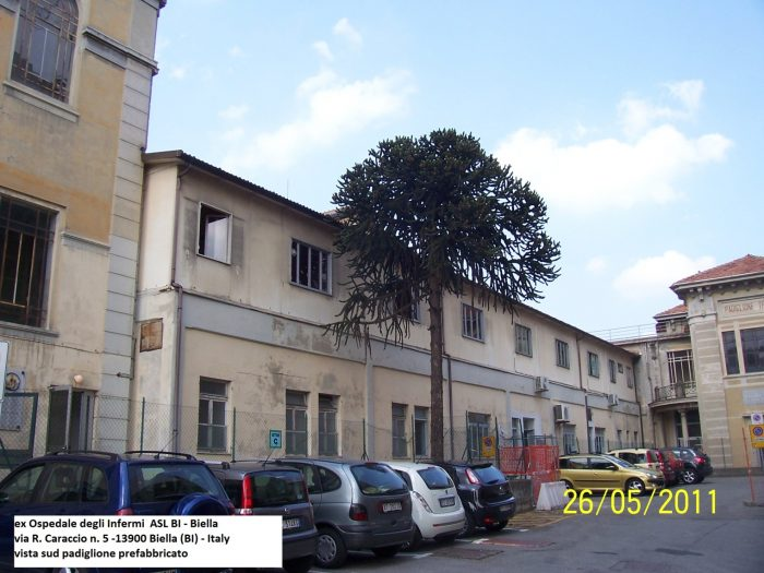 BIELLA – FORMER HOSPITAL OF THE DISABLED