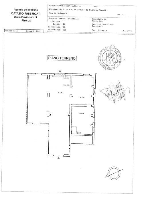 Bagno a Ripoli (FI) – Villa La Cipressa floorplan