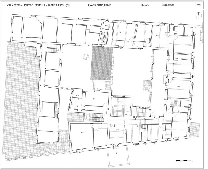 BAGNO A RIPOLI (FI) – VILLA PEDRIALI floorplan
