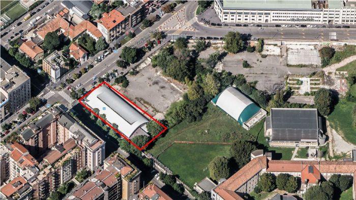 Milano – Shed and Area via Guglielmo Silva