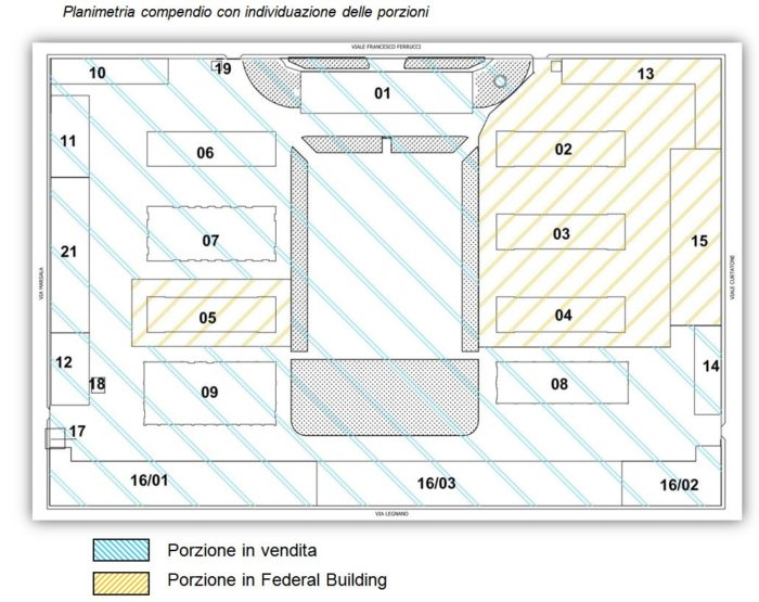 Novara – Former Cavalli Barracks floorplan