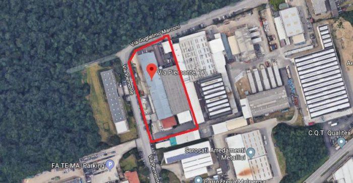 Lonate Pozzolo – Industrial Complex in Via Piemonte