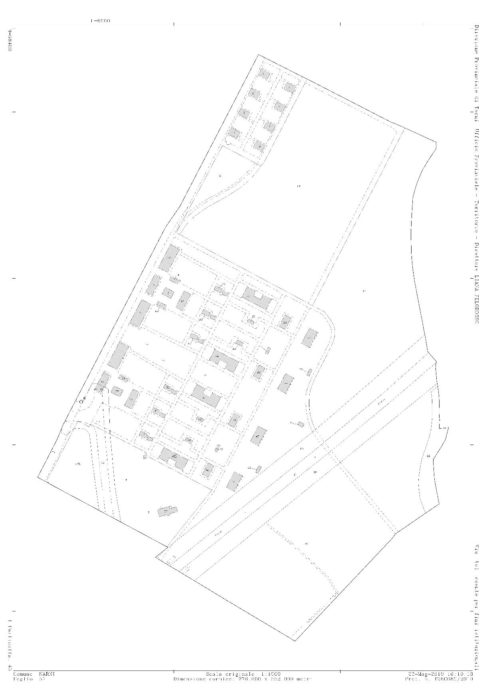 NARNI – «Former S.P.E.A.» Explosives Factory Remaining Area floorplan