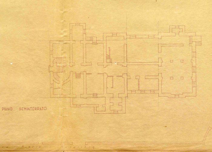 Schio – Villino Rossi floorplan