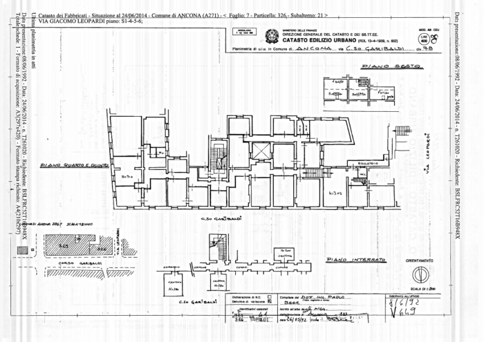 Ancona – Office and apartment units floorplan