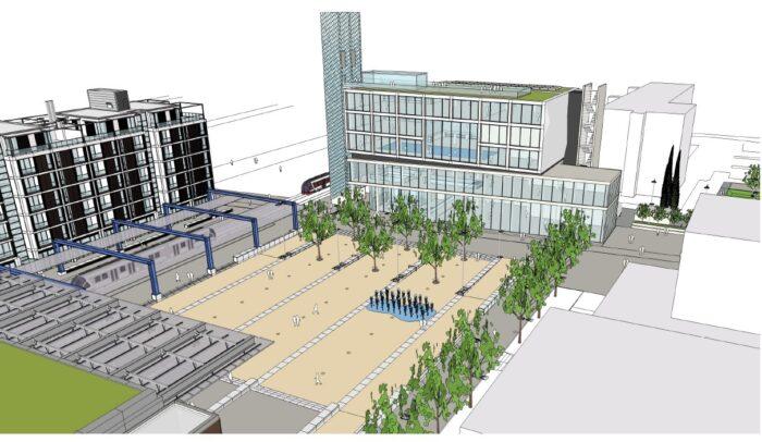 Scandicci (FI) – Nuovo Centro Urbano, Piano Direttore Richard Rogers