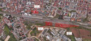 Battipaglia (SA) – Lotti edificabili presso Stazione FS Pianta principale
