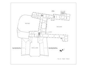 Cassina Rizzardi (CO) – Villa Porro Lambertenghi Floorplan