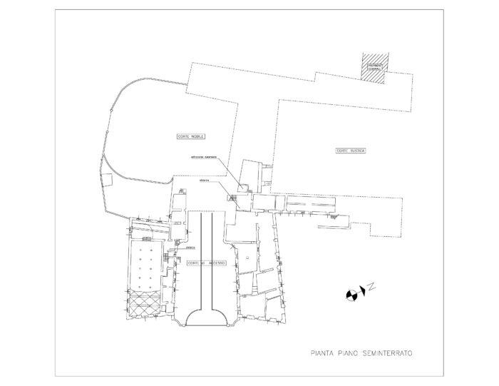 Cassina Rizzardi (CO) – Villa Porro Lambertenghi Pianta principale