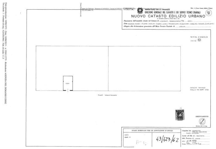 Lignano Sabbiadoro (UD) – House and Garage, Via Asti floorplan