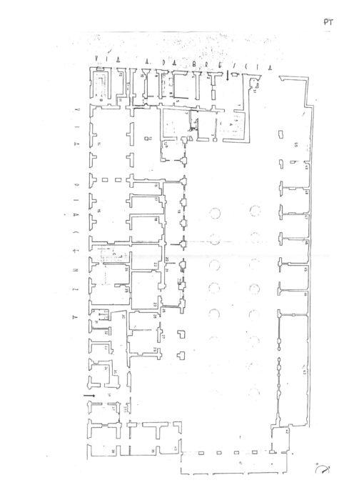 Alessandria – Former Military Engineering Pavillon floorplan
