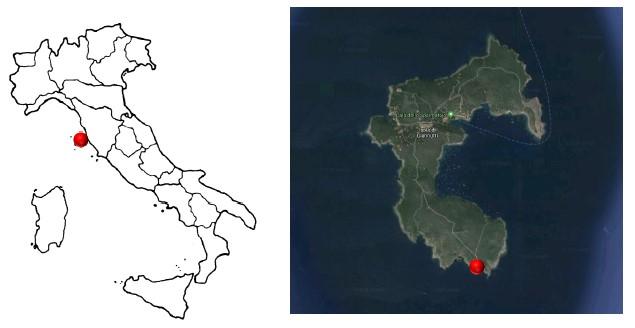Isola di Giannutri (GR) – Faro Capel Rosso