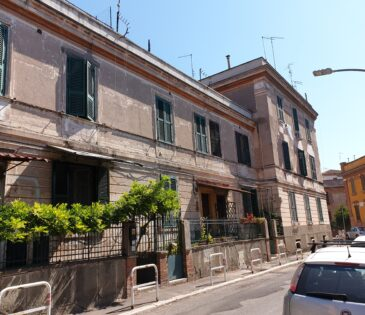Roma – Villino ATER Via Pinelli