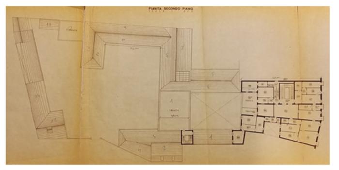 Padova – Complesso Palazzo «Da Zara» Pianta principale