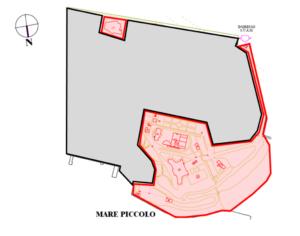 Taranto – Ex Idroscalo «Bologna» e Palazzo «Brasini» Pianta principale
