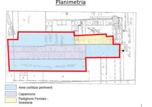 Caserta – Complesso Padiglione «Femiani» Pianta principale