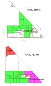 Livorno – Palazzina Dutnav Pianta principale