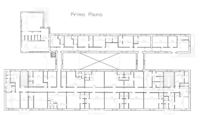 Piane di Mocogno (MO) – Caserma «Tavoni» Pianta principale