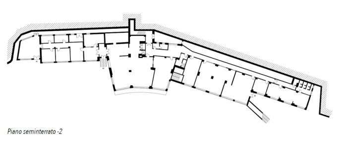 Genova – Ex Casa di Riposo Quezzi Pianta principale